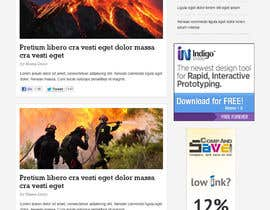 nº 27 pour Website Design for Disaster.Com par nhany