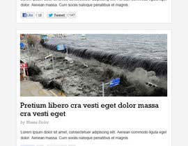 #28 untuk Website Design for Disaster.Com oleh nhany
