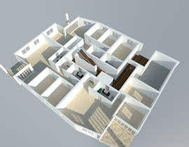 #13 for dwg to 3d plan by Ximena78m2