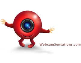 #166 para Logo Design for Webcam Sensations por AnaCZ