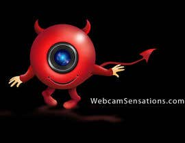 #169 for Logo Design for Webcam Sensations by AnaCZ