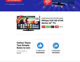Nro 10 kilpailuun Design a landing page for our competition käyttäjältä Tonmoydedesigner