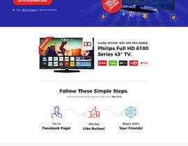 Nro 20 kilpailuun Design a landing page for our competition käyttäjältä Tonmoydedesigner
