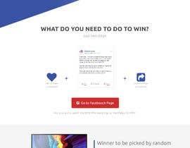 Nro 22 kilpailuun Design a landing page for our competition käyttäjältä lewpromax