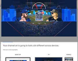 #32 , Blue Jays Baseball Fan Youtube Channel Banner and +Logo 来自 gilart
