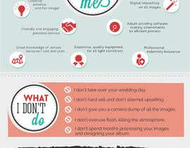 #14 untuk Wedding Photography Infographic oleh olatzgiorgia
