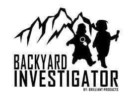 #5 para Logo Design - Backyard Investigator por EZEKIEL19