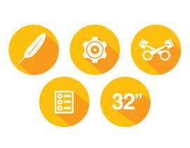 #2 cho Design some Icons for motorsports company site bởi Slkline