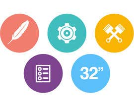 #12 cho Design some Icons for motorsports company site bởi Slkline