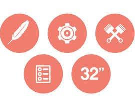 #13 cho Design some Icons for motorsports company site bởi Slkline