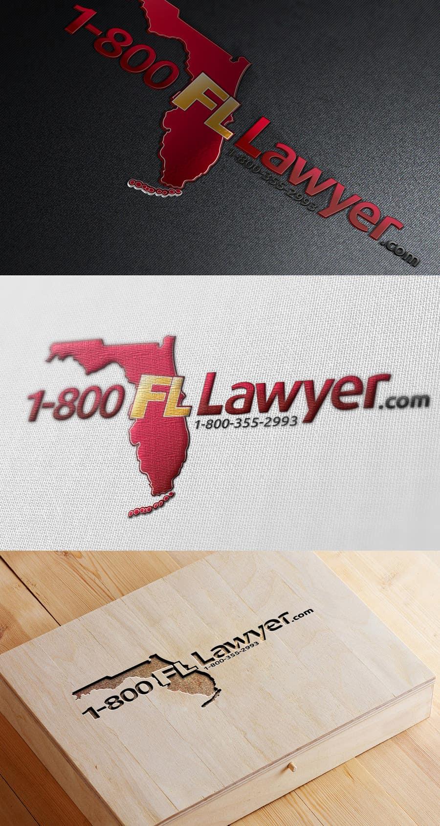 Penyertaan Peraduan #                                        200                                      untuk                                         Logo Design for 1-800FLLawyer
