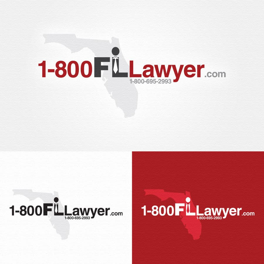 Contest Entry #208 for Logo Design for 1-800FLLawyer