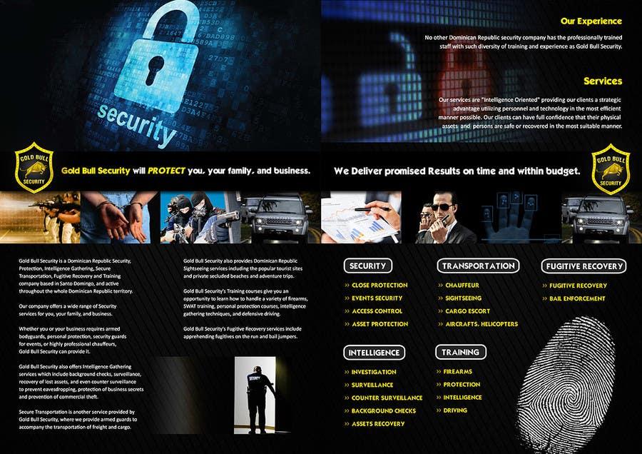 Penyertaan Peraduan #                                        19                                      untuk                                         Flyer Design for security and transportation company