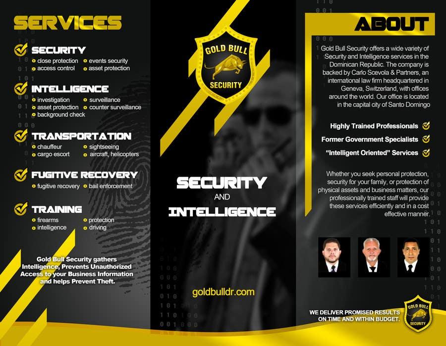 Penyertaan Peraduan #                                        17                                      untuk                                         Flyer Design for security and transportation company