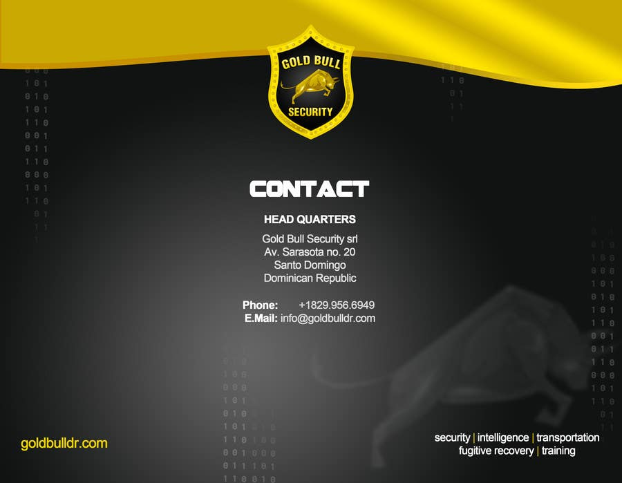 Penyertaan Peraduan #                                        16                                      untuk                                         Flyer Design for security and transportation company