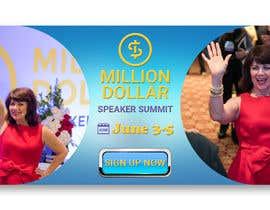 saifulkazy17 tarafından Facebook Ad for Million Dollar Speaker Summit için no 20