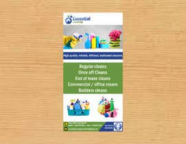 #33 for DL size flyer for home cleaning business by jazg91