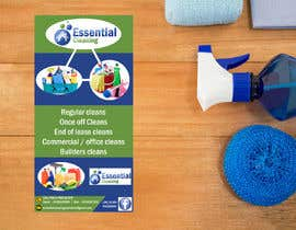 #38 for DL size flyer for home cleaning business by jazg91