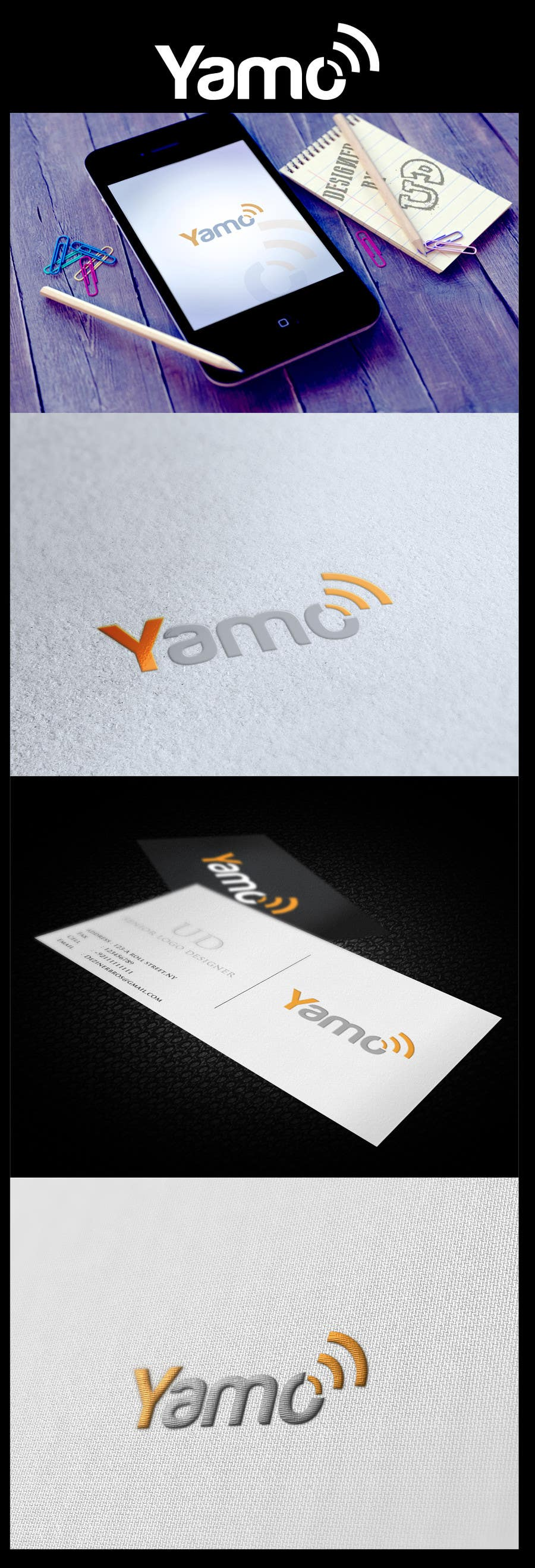 #268 for Logo Design for Yamo by finestthoughts