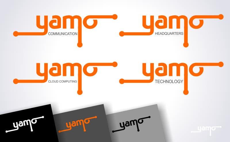 Kilpailutyö #660 kilpailussa Logo Design for Yamo
