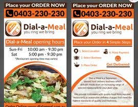 #13 para Dial a meal Flyers por ReallyCreative