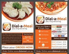 #16 para Dial a meal Flyers por ReallyCreative
