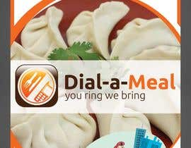 #18 para Dial a meal Flyers por ReallyCreative