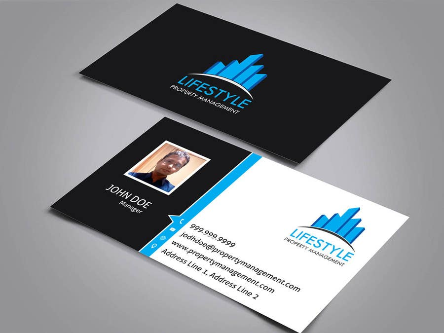 Property management business cards ri analytical business for Business card management