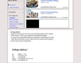 #5 para Website design - exclusive education classified de tayyabaislam15