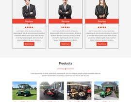 jabir88 tarafından Design a landing page (Just Design - HTML+ CSS Files) için no 11