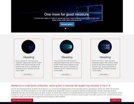 VisionXTech tarafından Design a landing page (Just Design - HTML+ CSS Files) için no 9