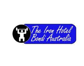 jamesjosemanoj tarafından The logo is for a fake gym:  The Iron Hotel Bondi Australia  Est1964  Inspo  - Golds Gym - Muscle beach (Venice beach, CA) - Globo Gym (dodgeball) - 1980s Miami Vice   To be printed on tshirts and a big poster için no 4