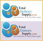 Logo Design for Total Diabetes Supply için Graphic Design99 No.lu Yarışma Girdisi