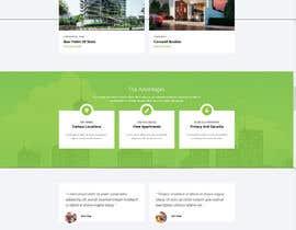 nº 6 pour Simple Property Website par cdesigneu