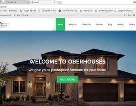 nº 23 pour Simple Property Website par ahmedtaufique98
