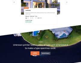 nº 13 pour Simple Property Website par JeetRock01