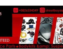 #27 for Design a Website Mockups and Banner for Car Parts Shop af emely1810