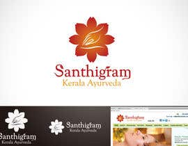 #104 для Logo Design for Santhigram Kerala Ayurveda от Mackenshin