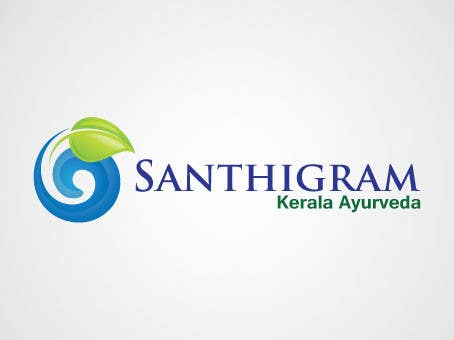 Конкурсная заявка №84 для Logo Design for Santhigram Kerala Ayurveda
