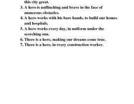 nº 12 pour Need a wordsmith to recreate 7 simple points par abutarekmdtahsin