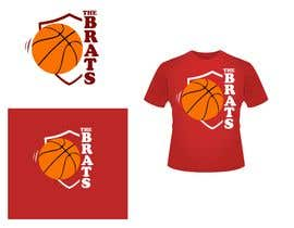 "#23 for I need a logo designed. Kids basketball team under 8years  called ""The Brats""   Something that can go across the shoulders on the back of a tshirt by shahabyoyo"