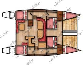 #12 for I need some Graphic Design - Boat Layout Diagram by misalpingua03