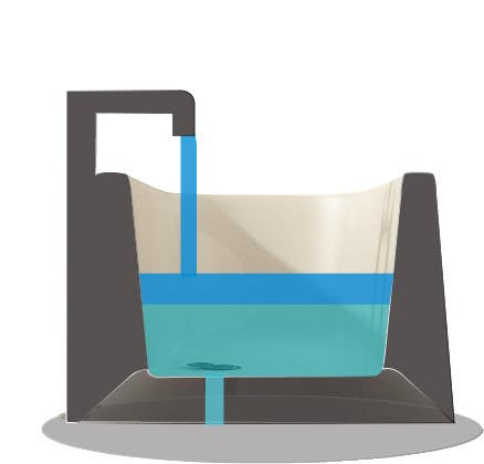 Contest Entry #20 For Illustrate A Cut Away View Of A Bathtub For A