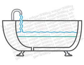 #37 For Illustrate A Cut Away View Of A Bathtub For A Screencast Video