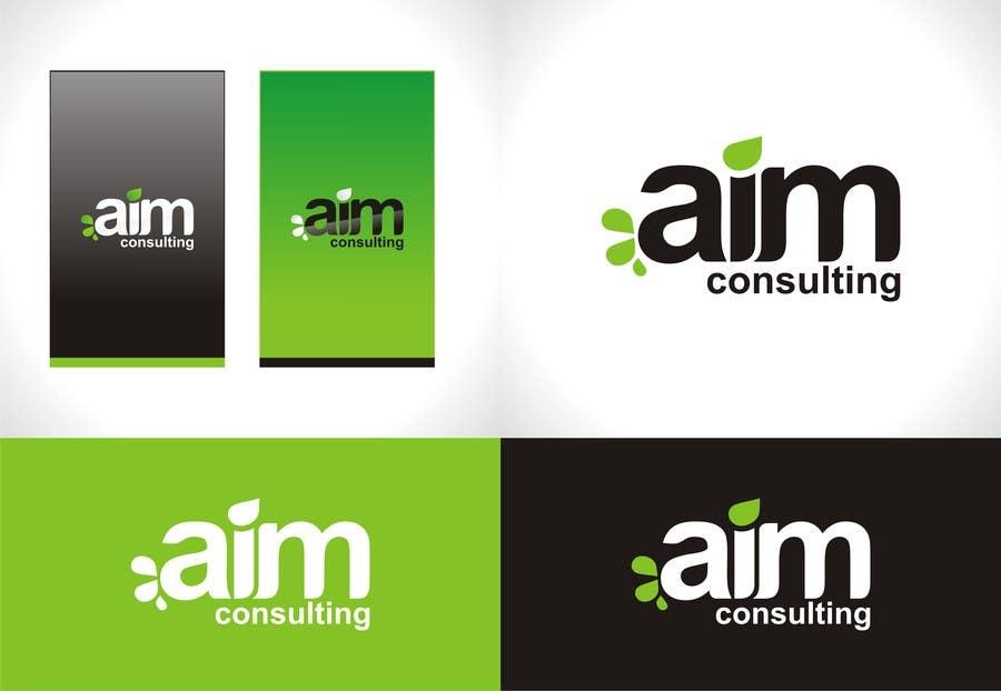 Kilpailutyö #90 kilpailussa Graphic Design for AIM Consulting (Logo Design)