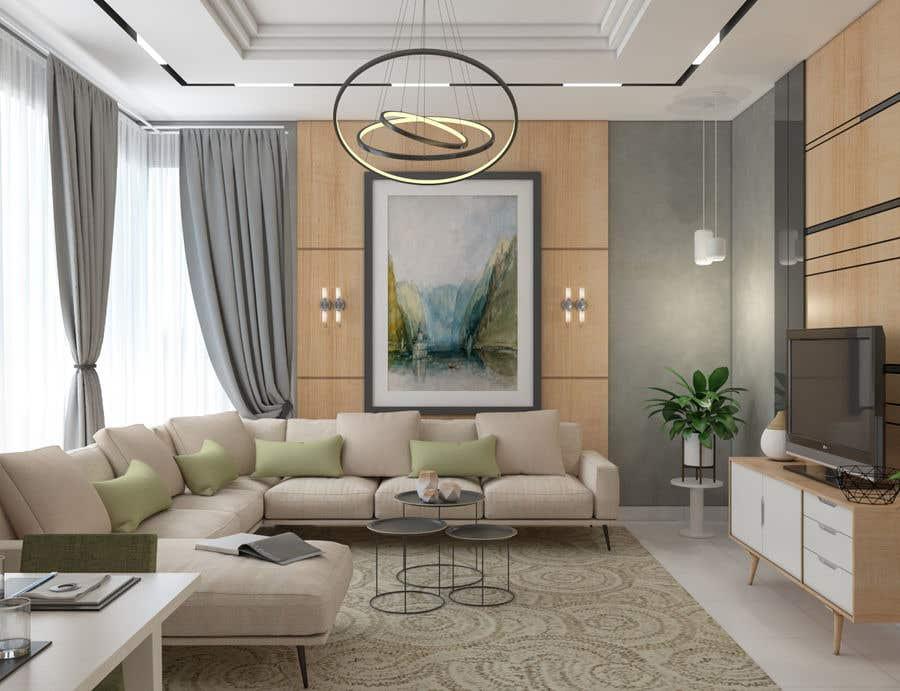 Entry 74 By Bissawi For Living Room 3d Model Interior Design Freelancer