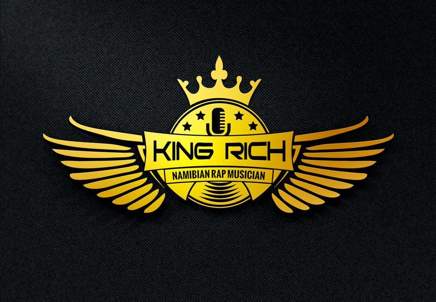 entry 15 by kishoreyadav0309 for design a logo for king rich rap