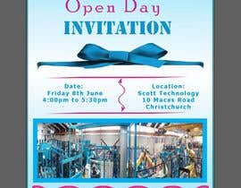 #9 for Design us an Open Day Invitation by JohanKha05