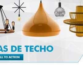 #20 untuk Diseñar un banner para slider imágenes lámparas oleh savitamane212