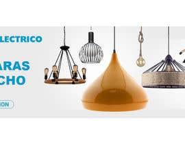 #18 untuk Diseñar un banner para slider imágenes lámparas oleh helalahmed9